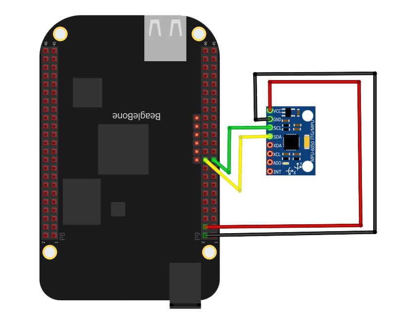 Beaglebone Black MPU6050 Interfacing: I2C Tutorial Part 2