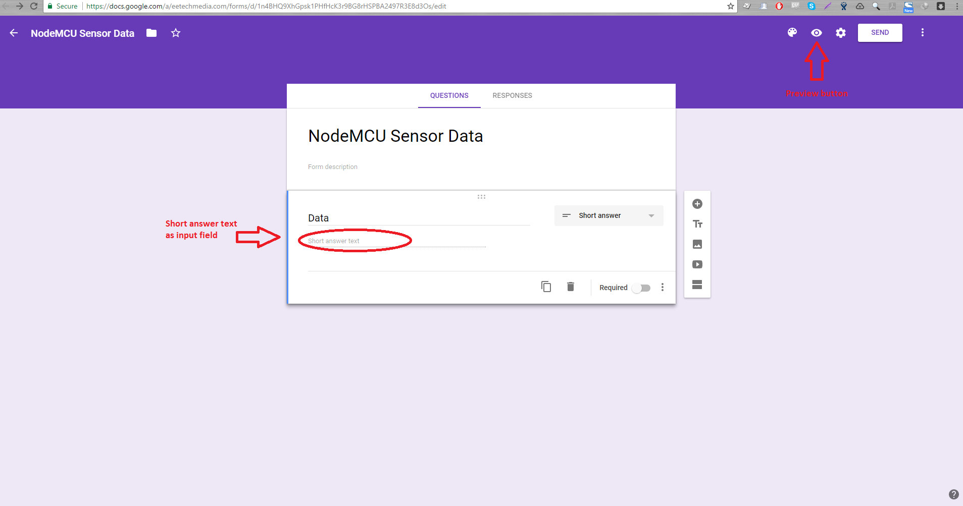 Log Data with NodeMCU and Google Sheets | Microcontroller