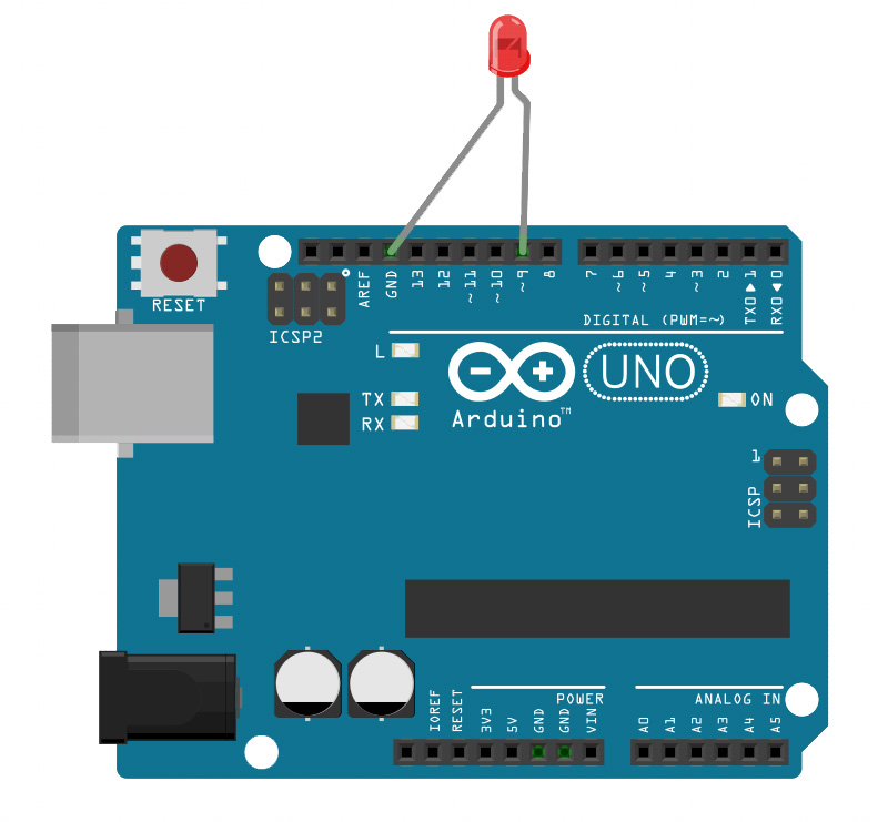 An arduino led control tutorial teach me microcontrollers