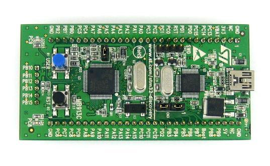 Blink On-board LEDs on STM32F1 Discovery | Microcontroller