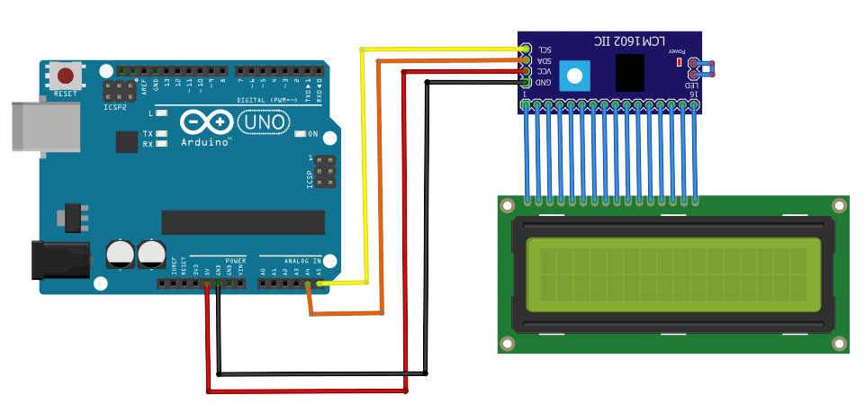 arduino-lcd-i2c-interface