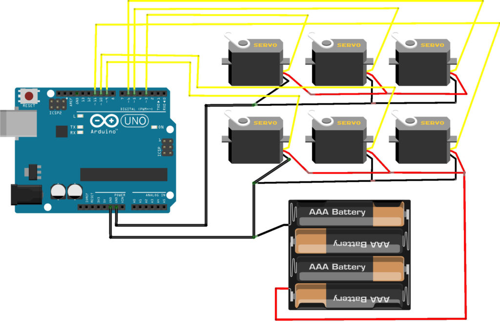 Connecting a Servo Motor to An Arduino | Microcontroller