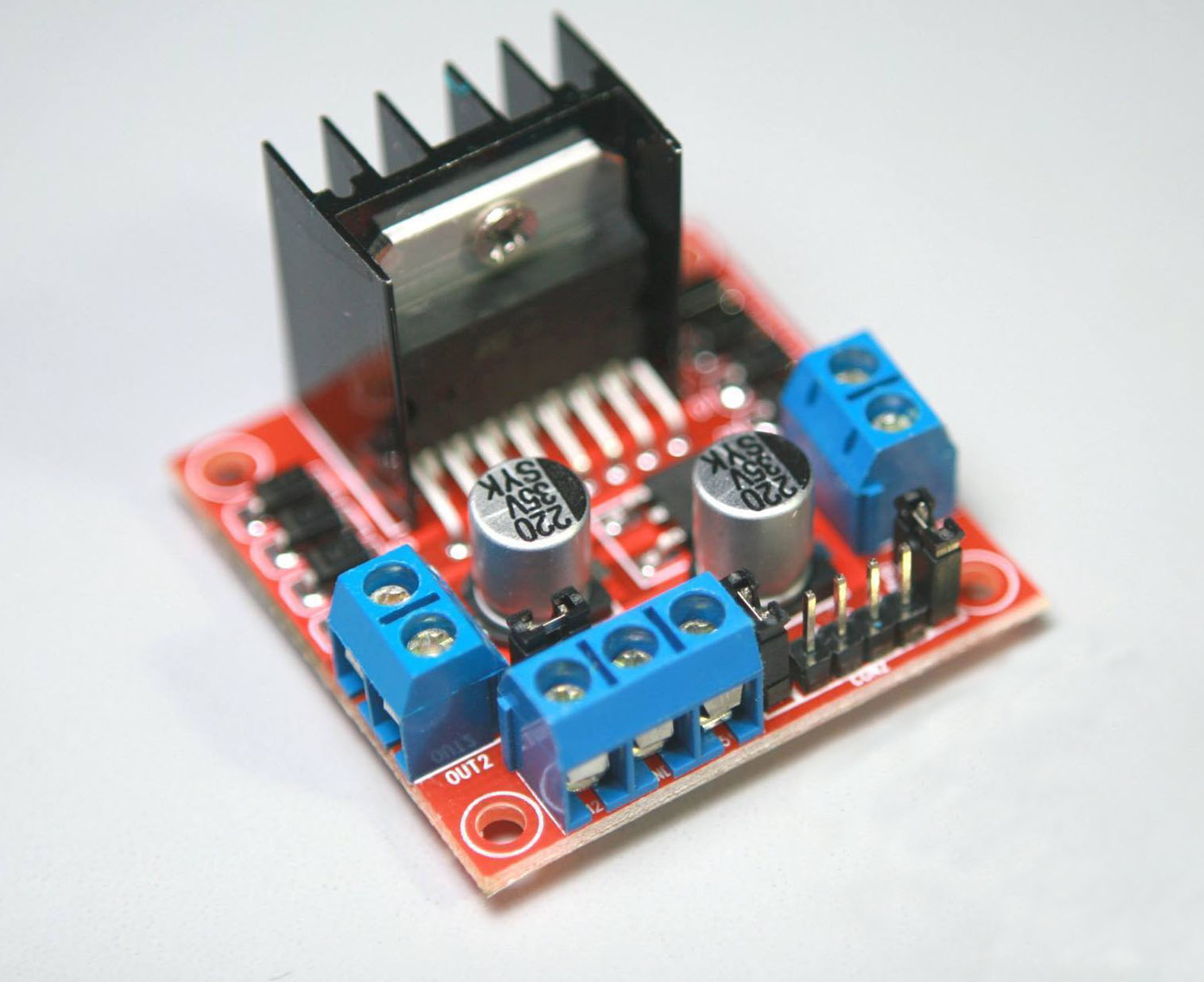 How To Use L298n Motor Driver Teach Me Microcontrollers 8051 Circuit Diagram