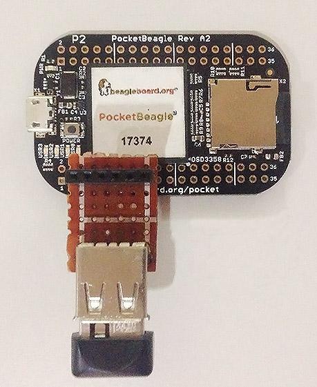PocketBeagle WiFi DIY