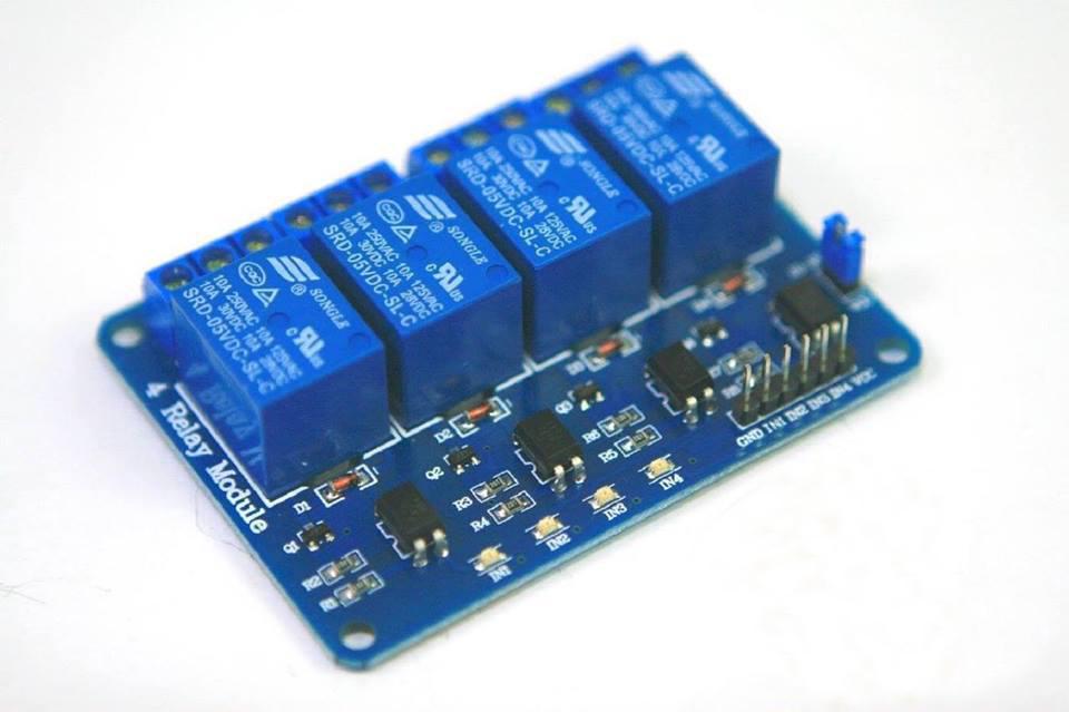 Four Relay Arduino Relay module