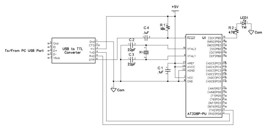 DIY Arduino Schematic