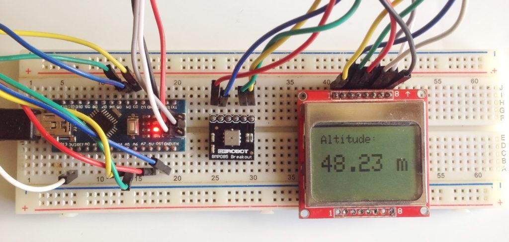 Arduino Altimeter Project Using BMP085 | Microcontroller