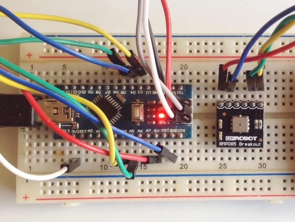 Arduino BMP085 Tutorial | Microcontroller Tutorials