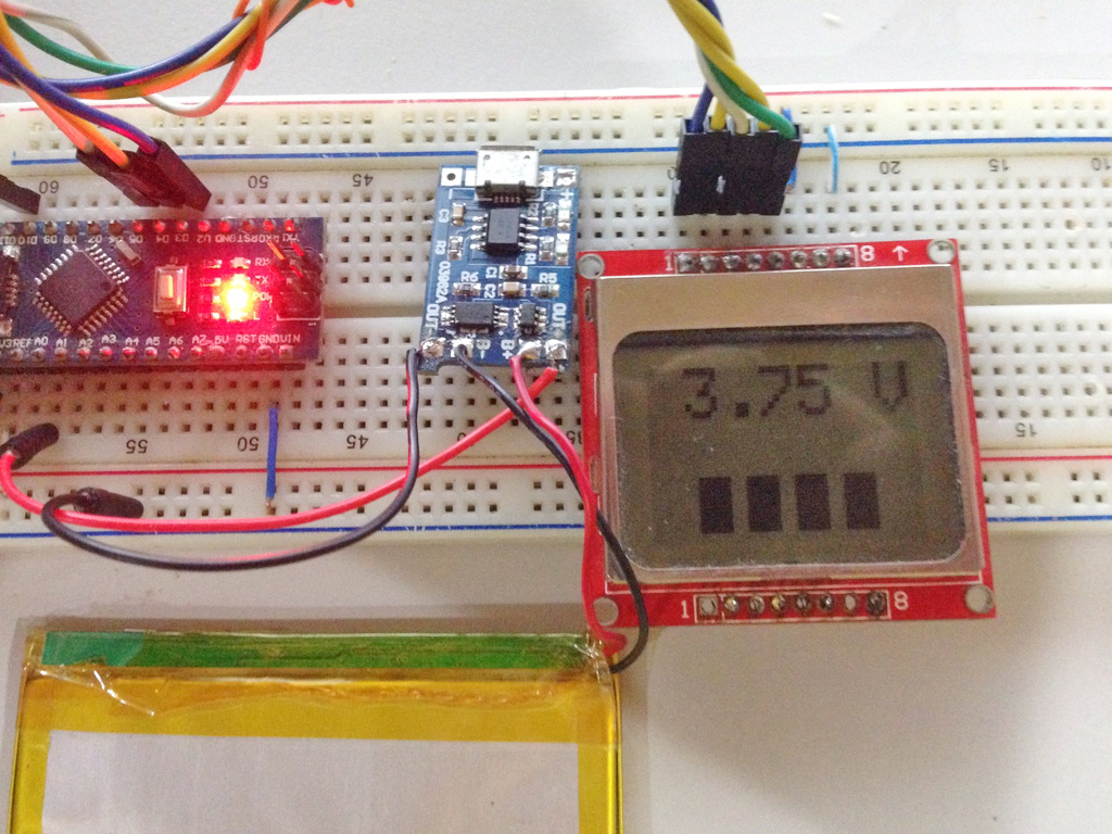 Arduino LiPo Battery Monitor Teach Me Microcontrollers