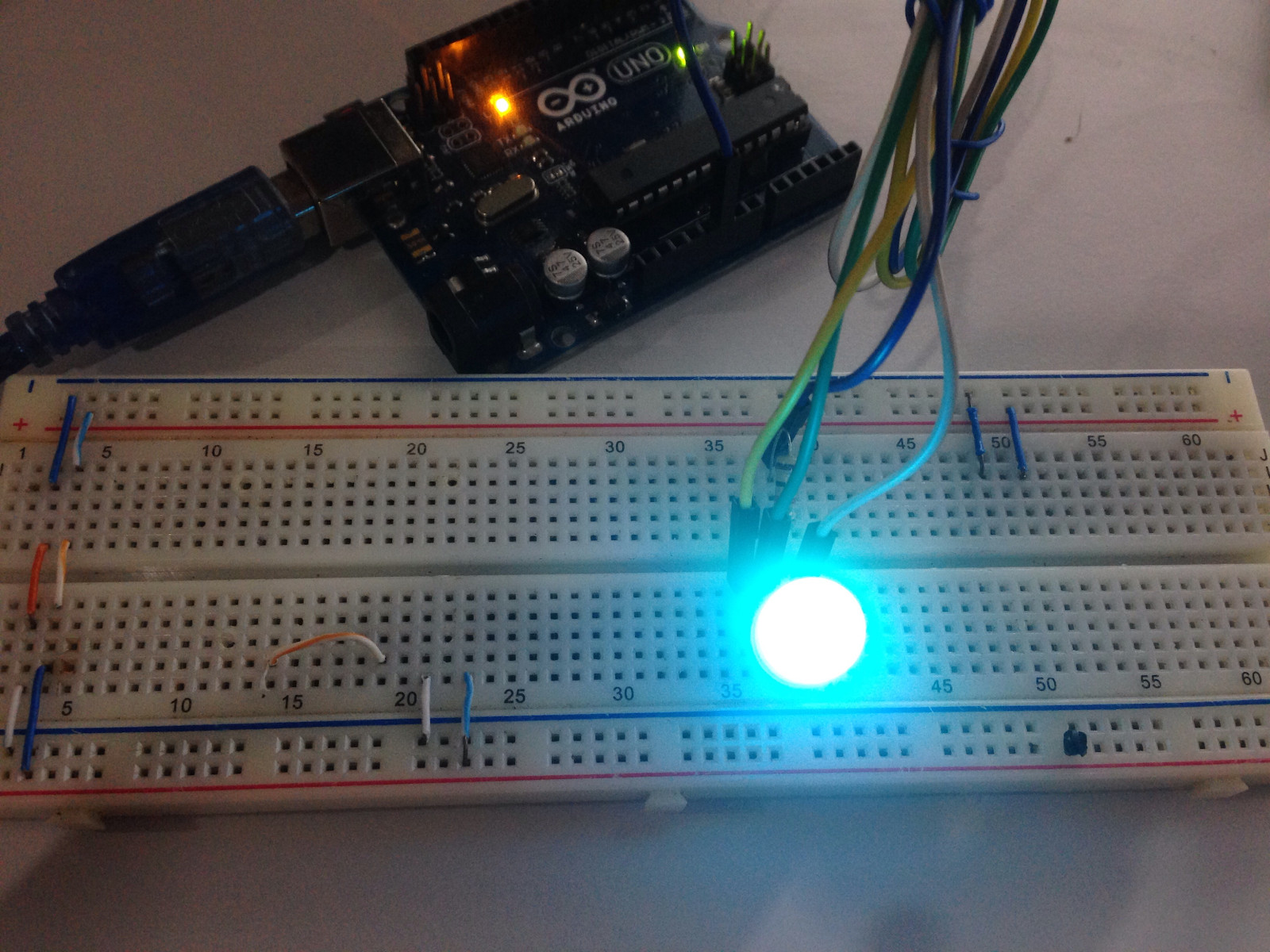 An Arduino Led Control Tutorial Teach Me Microcontrollers Lights Dimmer For Multiple Lamps