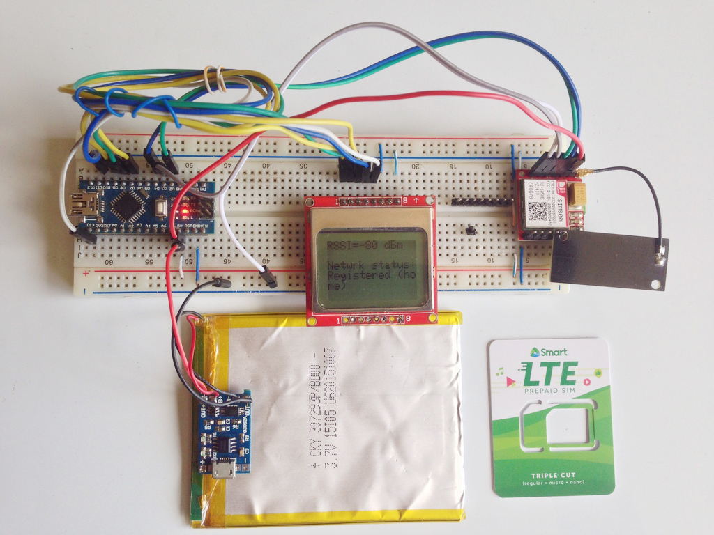SIM800L Network Test Project | Troubleshooting | Microcontroller