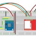 SIM800L ThingSpeak Fritzing Diagram