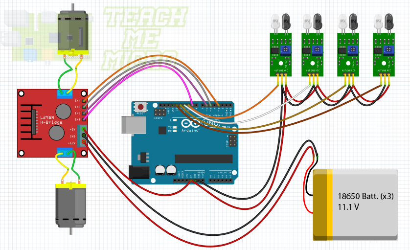 Obstacle-Avoiding Arduino Robot | Microcontroller Tutorials