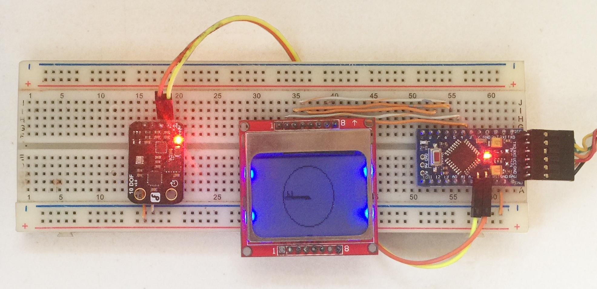 Arduino Compass with HMC5883L Magnetometer | Microcontroller Tutorials