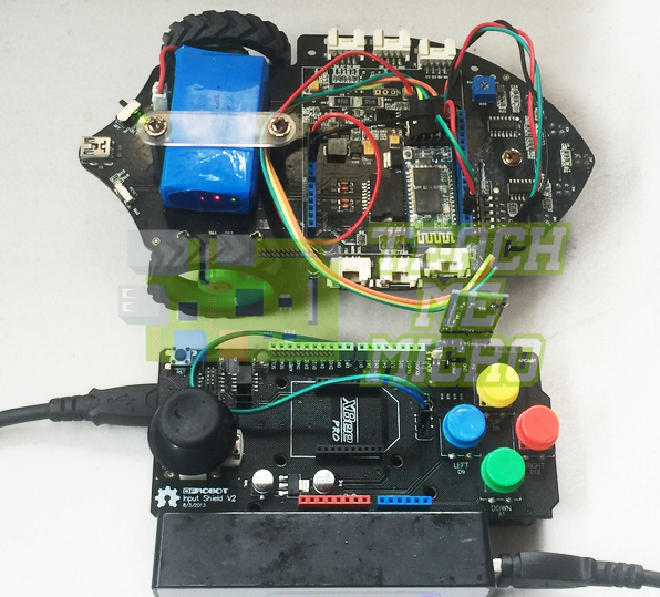 Wireless Controller with Robot