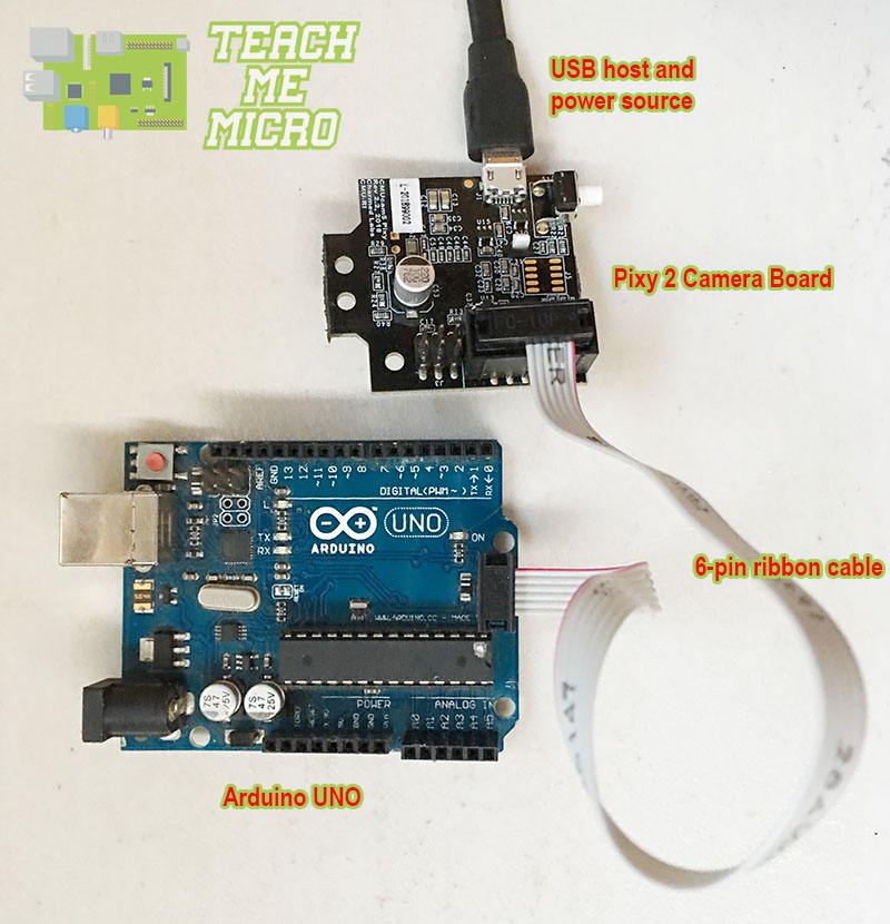 Arduino UNO and Pixy connection