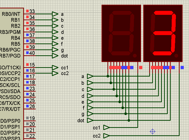 Persistence of Vision (POV) with Seven-segment Displays
