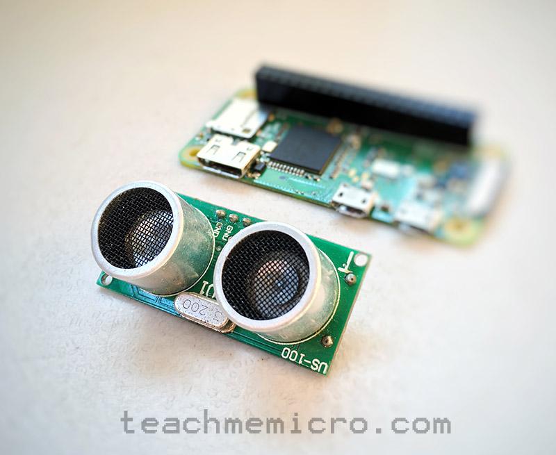 Raspberry Pi Ultrasonic Sensor tutorial