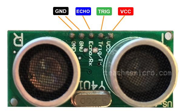 Raspberry Pi Ultrasonic Pinout