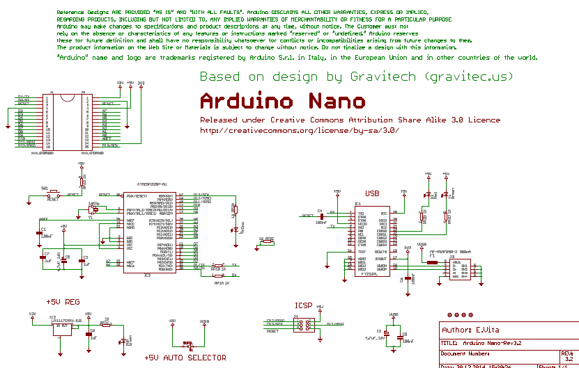 Arduino NANO Pinout Diagram   Microcontroller Tutorials