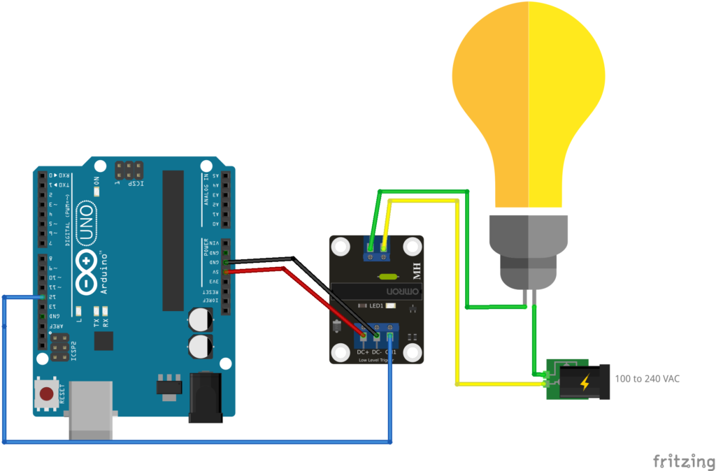 Arduino UNO to Solid State Relay